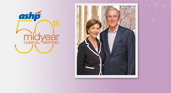 ASHP Welcomes President and Mrs. George W. Bush